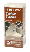 Cabinet Mounting Screws