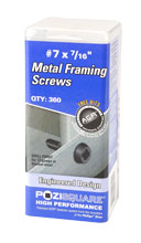 Metal Framing Screws