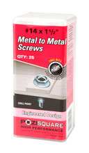 Metal to Metal Screws